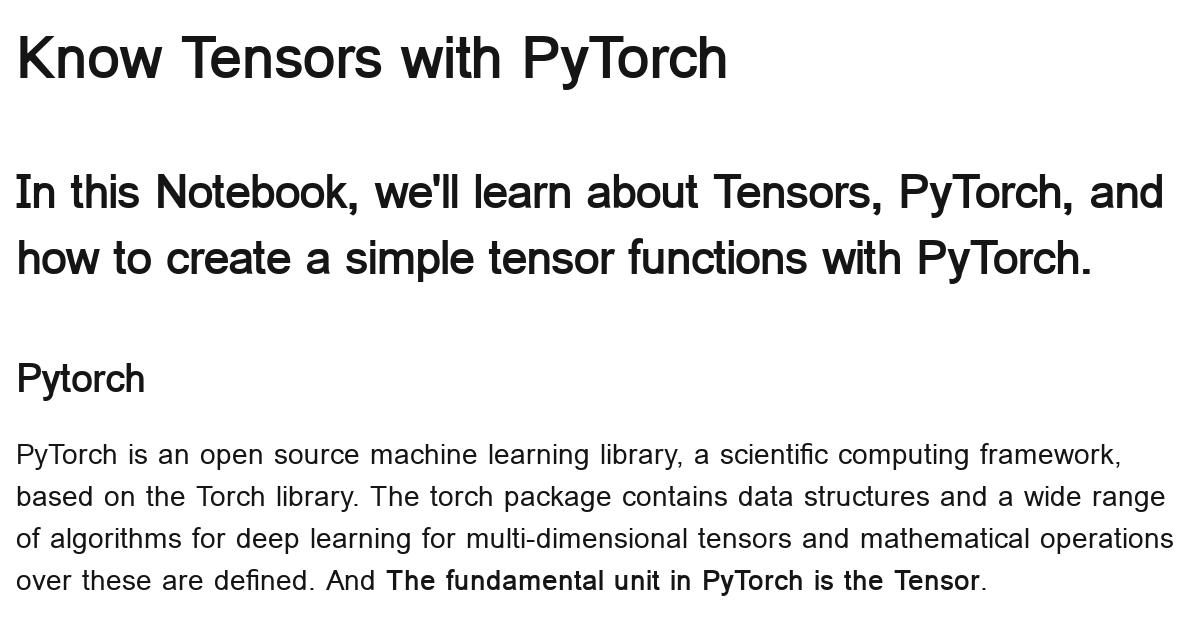 know-tensors-with-pytorch