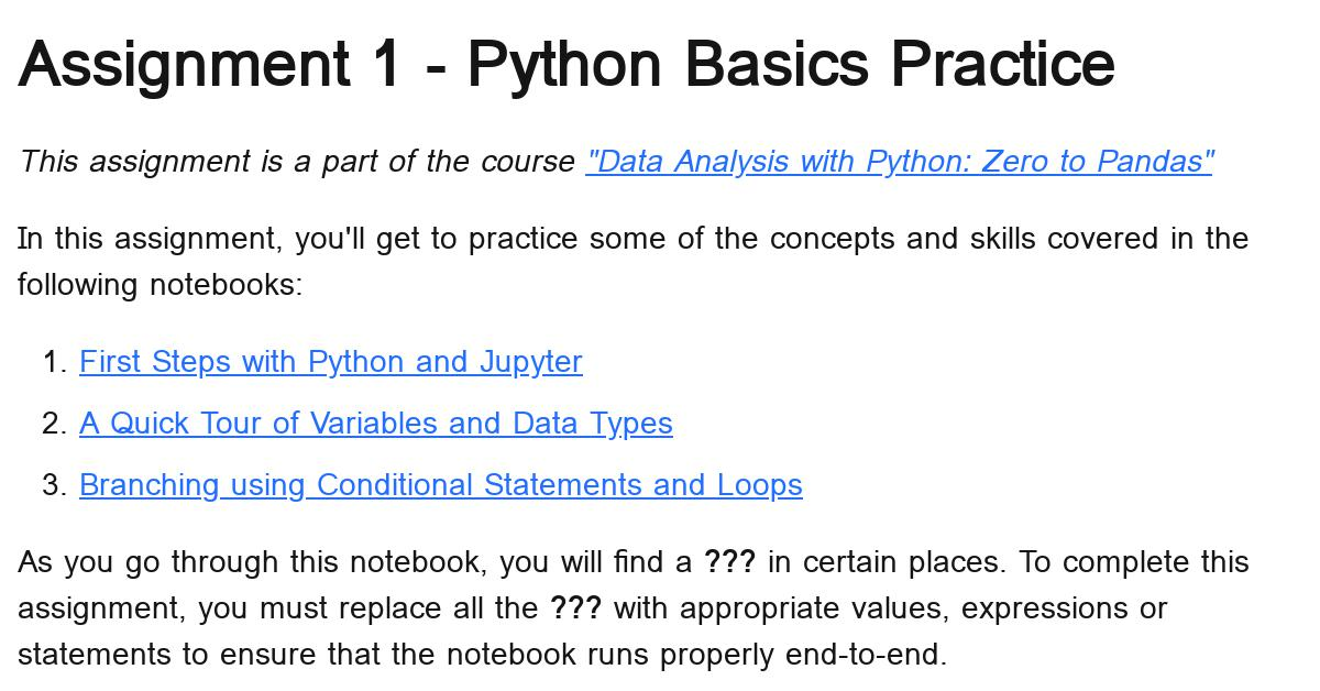 assignment1-python-practice-assignment