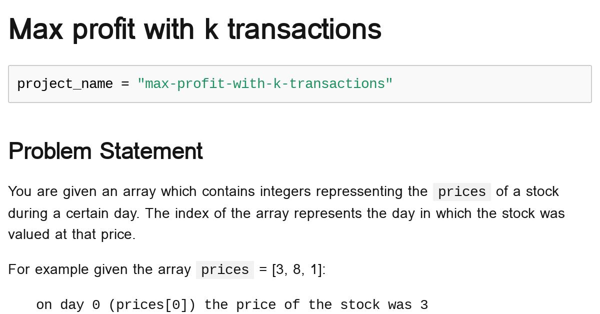 max-profit-with-k-transactions