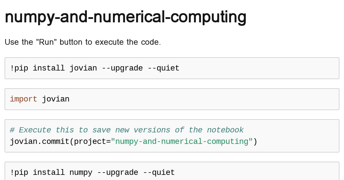 numpy-and-numerical-computing