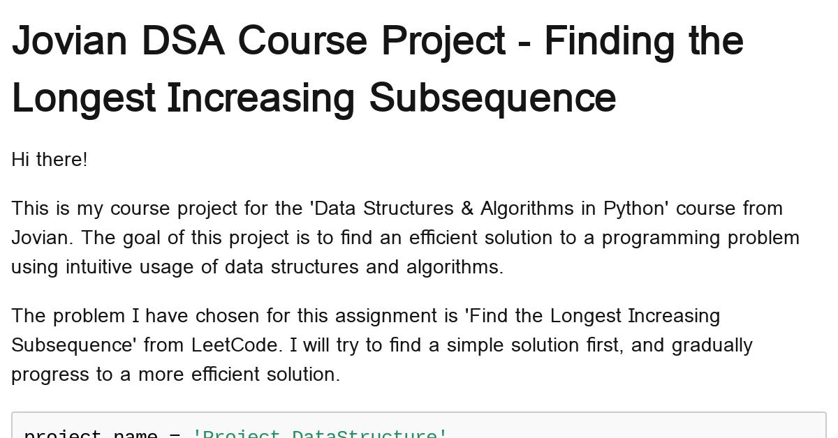 project-datastructure